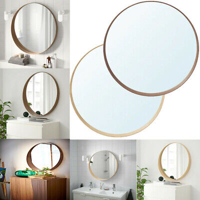 Ikea STOCKHOLM Bathroom Bedroom Hanging Round Shape Frame Glass Wall Mirror 80cm • 149.99£