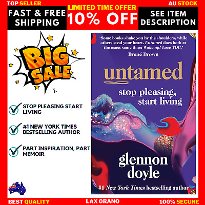 AU26.75 • Buy Untamed: Stop Pleasing, Start Living - Paperback Book BRAND NEW FREE SHIPPING AU