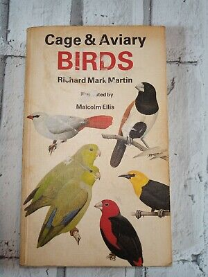 Cage And Aviary Birds Collins Handguides Ellis Malcolm Hardback Book Vintage • 8.99£