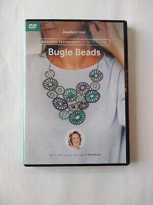 £8 • Buy Jewellery Maker Instructional DVD: Beading Techniques With Kleshna - Bugle Beads