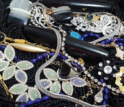 $ CDN85.67 • Buy Vintage Now Unsearched Untested NOT Junk Drawer Jewelry Lot Estate All Wear L530