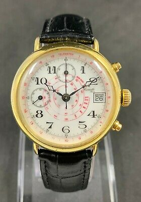 $ CDN461.37 • Buy Vintage CHRONOGRAPH LEMATIC Manual Wind Watch Cal.Valjoux 7765 , 17 Jew