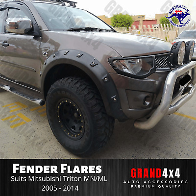 AU219 • Buy Fender Flares Guard FRONT Pocket Style For Mitsubishi Triton MN/ML 2006-2014