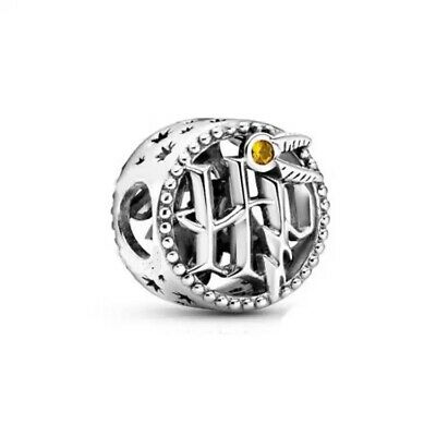 £5.93 • Buy HARRY POTTER ICONS ROUNDEL  European Charm & Gift Pouch - Silver Plated