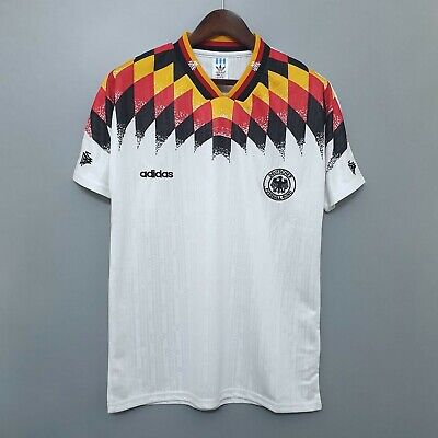Germany 1994 Home Short Sleeve Retro Football Shirt • 28.99£