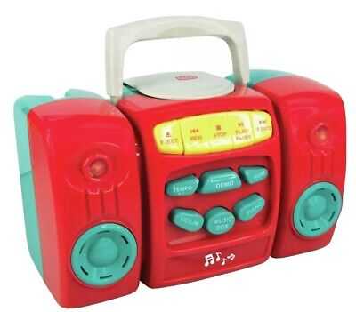 £18.99 • Buy Chad Valley CD Player - Red 18months And Over