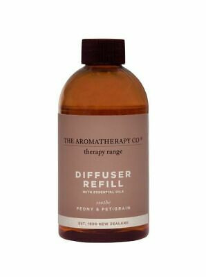 AU35 • Buy THE AROMATHERAPY CO Therapy Reed Diffuser Refill Soothe Peony & Petitgrain