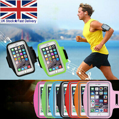 Sports Running Armband Case Jogging Gym Bag Cover Holder For IPhone 11 XS 8 7 6s • 1.88£