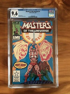 $139.99 • Buy 🔥🗡Masters Of The Universe #1 CGC 9.6 Star Comics Dedicated He-Man Series🗡🔥