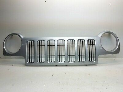 $197.99 • Buy OEM Jeep Liberty 2002-2004 Front Grille Grill Assembly W/o Emblem Logo Badge