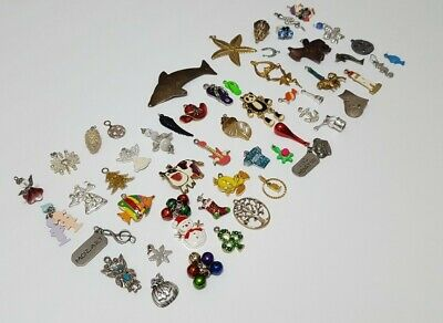 $ CDN32.94 • Buy Vintage Now Unsearched Untested Junk Drawer Jewelry Miniature Charm ++  Lot 54
