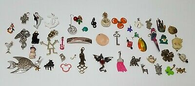$ CDN32.94 • Buy Vintage Now Unsearched Untested Junk Drawer Jewelry Miniature Charm ++  Lot 46