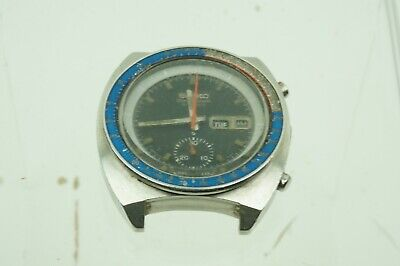 $ CDN461.36 • Buy Vintage Seiko 6139-6002 March 1975 Automatic Chronograph 70m Sport POGUE Project