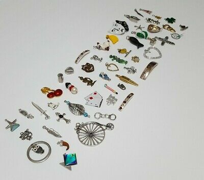 $ CDN35.58 • Buy Vintage Now Unsearched Untested Junk Drawer Jewelry Miniature Charm ++  Lot 53