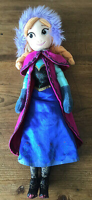 Disney Store Soft Plush Anna Doll • 3.50£