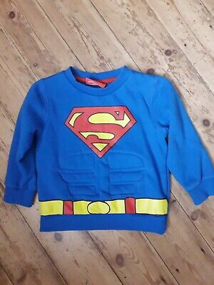 Superman Jumper Size 4-5 Years  • 4£