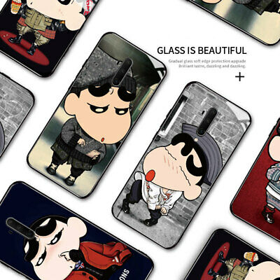 AU5.40 • Buy Case For OnePlus 8 Pro 7T 6T 5T Anime Crayon Shinchan Tempered Glass Back Cover