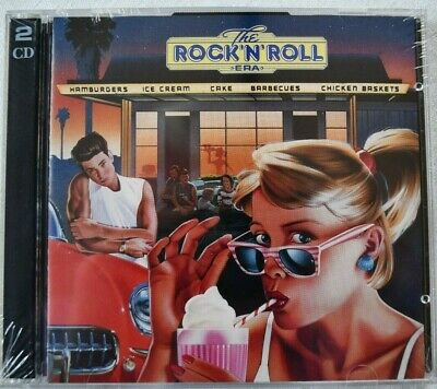 Time Life Dble CD  The Rock 'n' Roll Era   2RNR-4489  44 Tracks New In Wrapper • 9.99£
