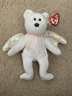 Ty Beanie Babies Very Rare Halo 425 With Tag Error-tag Protector Included • 599£