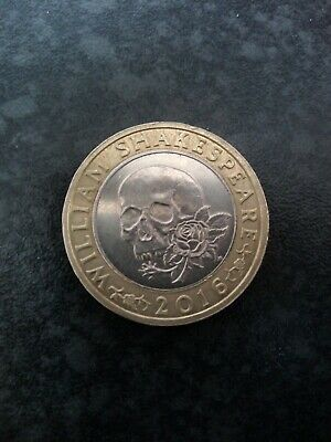 2016 William Shakespeare Tragedy £2 Coin. Good Condition!! • 3£