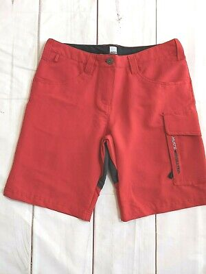 Musto Evolution Ladies Shorts Size 8 Red UV Protection • 44.95£