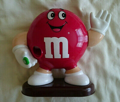 M And Ms M&Ms Chocolate Collectable Dispenser In Red  • 14£