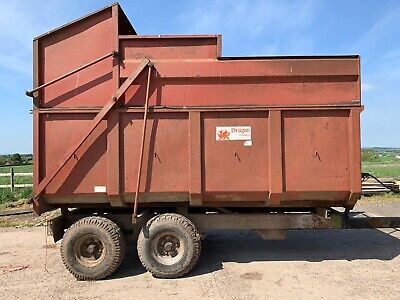 8 Tonne Silage Trailer  - Dragon - With Grain Door • 2,899£