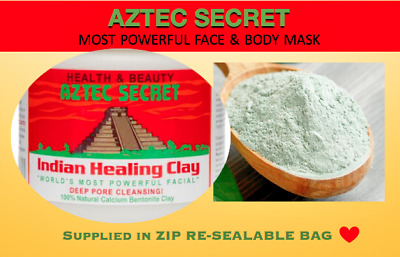 AU11.09 • Buy Aztec Secret Indian Healing Clay Facial Acne Deep Cleansing Mask - FAST POST!!
