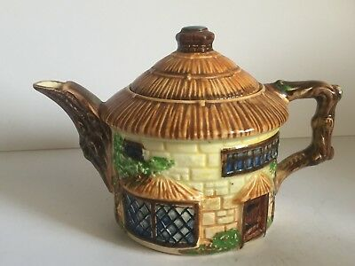 Vintage Beswick Potteries English Country Thatched Cottage Teapot (model 240) • 9.99£