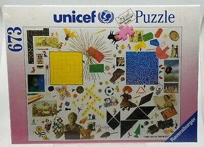 $ CDN50.43 • Buy Unicef Ravensburger Quality Made In Germany PUZZLE 673 Game Ideas 70x50 CM