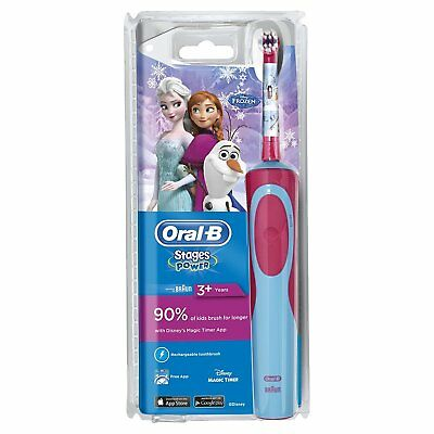 AU31.64 • Buy Braun Oral-B STAGES POWER Electric Toothbrush (FROZEN)