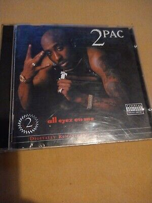 2Pac All Eyez On Me 2 CD Royal Mail 1st Class FAST & FREE • 4.75£