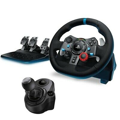 AU484.05 • Buy Logitech G29 Driving Force Racing Wheel For PS4 / PC + Shifter Bundle