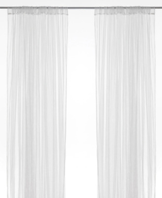 AU23.95 • Buy New IKEA LILL 1 Pack 2 Panels Sheer Lace Curtains WHITE (Netted)