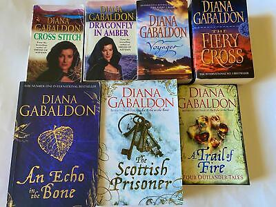 AU65.99 • Buy Diana Gabaldon X 8 Books - Outlander Series  - GC/VGC - Bulk Lot