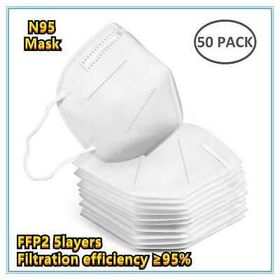 AU9.40 • Buy 10x N95 KN95 Masks Respirator Face Masks Surgical Disposable Filter Anti Dust