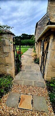 £90 • Buy Reclaimed Yorkstone Flags.UK £90 Per Sq Yard  INCLUDING DELIVERY