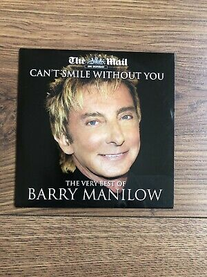BARRY MANILOW  The Very Best Of Hits Cd Mail Promo Cd Album 12 Tracks Cd • 3£