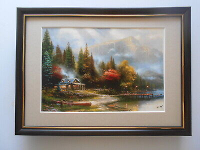 £21.50 • Buy Thomas Kinkade Print 'End Of A Perfect Day III' FRAMED