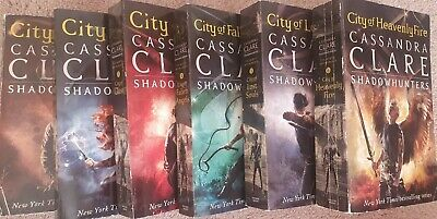 The Mortal Instruments Boxed Set. Books 1-6, By Cassandra Clare - Used Condition • 25£