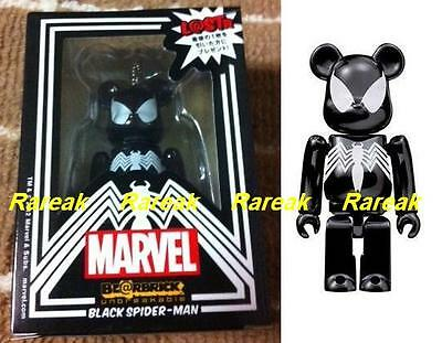 $199.99 • Buy Medicom Be@rbrick Marvel 100% Last Prize Black Spider-Man L@st Venom Bearbrick