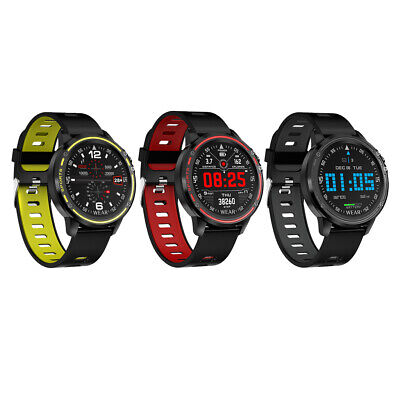 AU45.52 • Buy L8 Sport Smart Watch Men Fitness Tracker Heart Rate Monitor ECG PPG Touch Screen