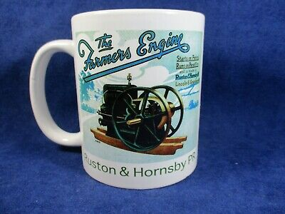 Ruston & Hornsby PR Stationary Engine Mug Ideal For Rallies Meetups Caravan Etc • 5.99£