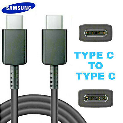 Genuine Samsung Galaxy S10 S10+  S20 Note 10  A70 1m Fast Charger Usb Cable Lead • 6.89£