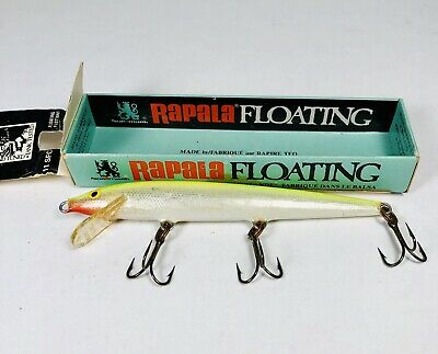 $ CDN6.60 • Buy Vintage RAPALA 11 SFC FLOATING Fishing Lure In Original Box - Nice One!