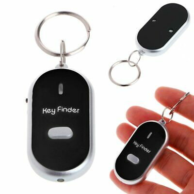 Whistle Key Finder Locator Remote Chain Lost LED Flashing Beeping Sonic Torch • 1.85£