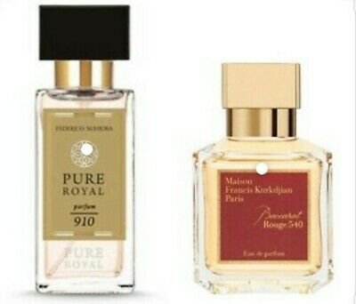 FM 910 Unisex Pure Royal 50ml Inspired By Baccarat Rouge 540  • 20.50£