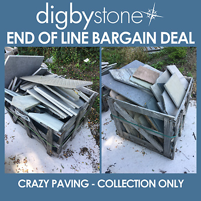 CRAZY PAVING - End Of Line - Bargain Deals - COLLECTION ONLY • 20£