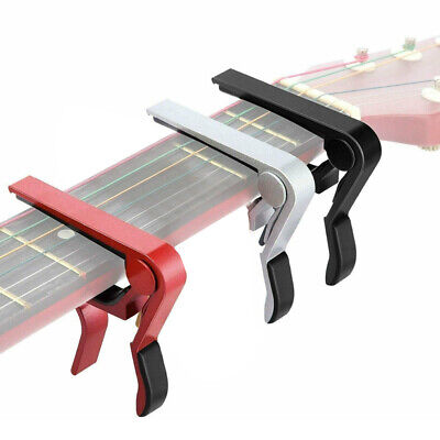 $ CDN5.28 • Buy 4 Colirs Guitar Capo Acoustic Clip Electric Guitar String Instrument Clamp Fret