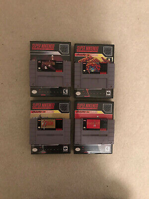 $ CDN197.73 • Buy Lot 4 Super Nintendo SNES Classic Games Super Metroid Zelda Final Fantasy